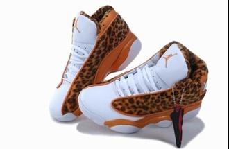 shoes jordan's cheetah print jeans top leopard print jordans