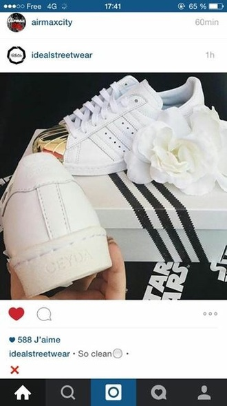 shoes adidas superstar gold white white shoes adidas supertars