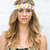 Flower Crown, Daisy Headband, Flower Headband, Coachella, Music festival, Rave accessory - Small white daisy headband