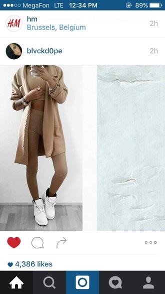 pants leggings beige beautiful fashion and style
