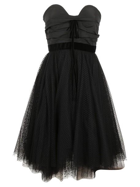 Philosophy di Lorenzo Serafini dress tulle dress black