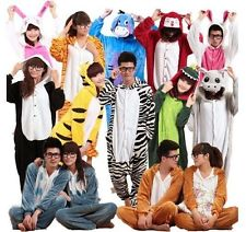 HOT Unisexe Adulte Pyjamas Cosplay Costume Kigurumi Animaux Onesie Nuit Suit | eBay