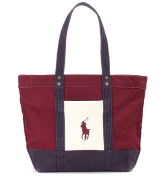 cotton red bag