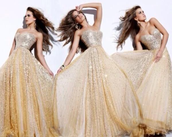 dress gold sequins sequin dress gold sequins ball gown dress sparkly dress gold sequins dress long prom dress sweetheart dress sweetheart neckline