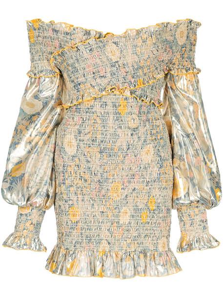 Alice McCall dress women love yellow orange