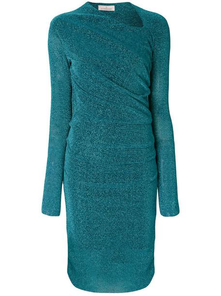 A.F.VANDEVORST dress long women fit blue