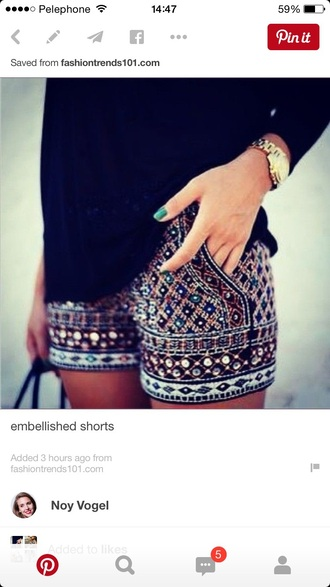 pants embellished