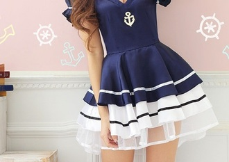 dress navy navy dress marine clothes sea blue blue dress
