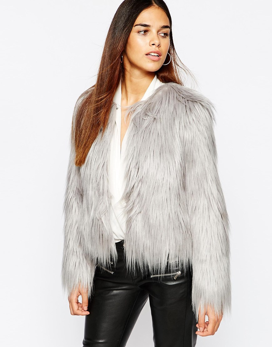 Faux Fur Coat at asos.com