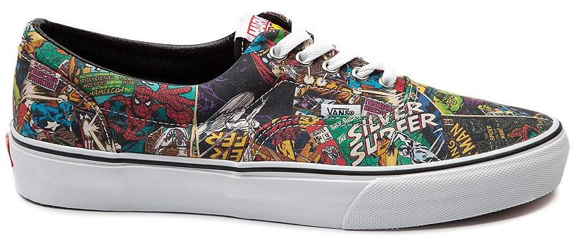 New VANS Era Marvel Comic Skate Shoe Mens/Womens multi
