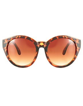 ASOS | ASOS Oversized Round Sunglasses at ASOS