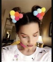 hair accessory,annie leblanc is wearing it,annie leblanc