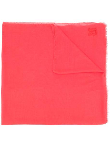 M Missoni women scarf red