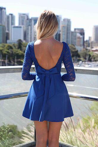 dress ustrendy ustrendy dress bow bows bow back dress bow on the back skater dress