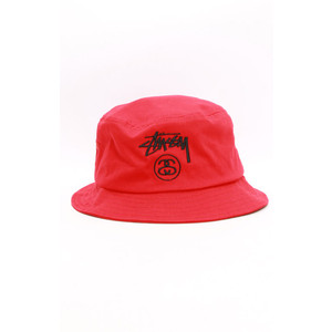 ... clearance stussy stock lock bucket hat red. 82c16 066e3 8f3f270e513e