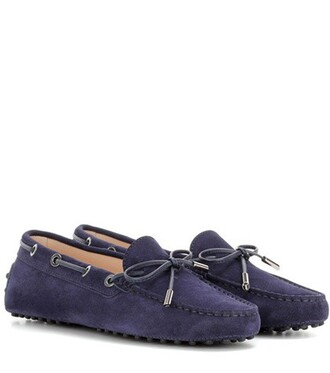 new loafers suede blue shoes