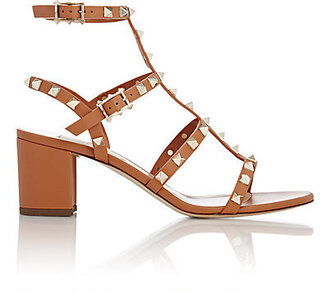 shoes valentino studded sandals block heels sandals valentino rockstud shoes studded shoes mid heel sandals nude sandals
