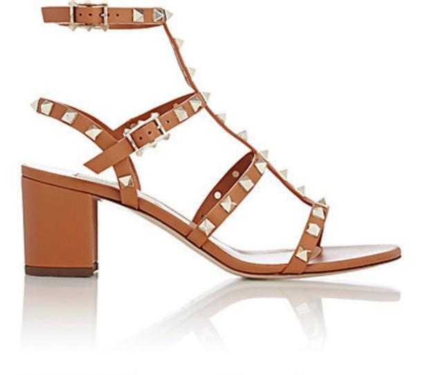 3293331c929 shoes Valentino studded sandals block heels sandals valentino rockstud shoes  studded shoes mid heel sandals nude