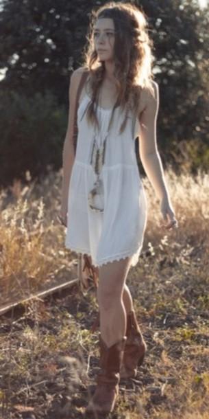 cute dress cute boho hippie vintage flowy dress fashion outfit clothes