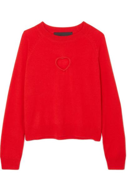 Paper London sweater wool sweater wool red