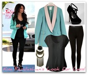 coat,kim kardashian,shirt,pants,shoes