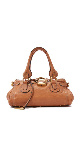What Goes Around Comes Around Chloe Medium Paddington Bag (Previously Owned) - Brown