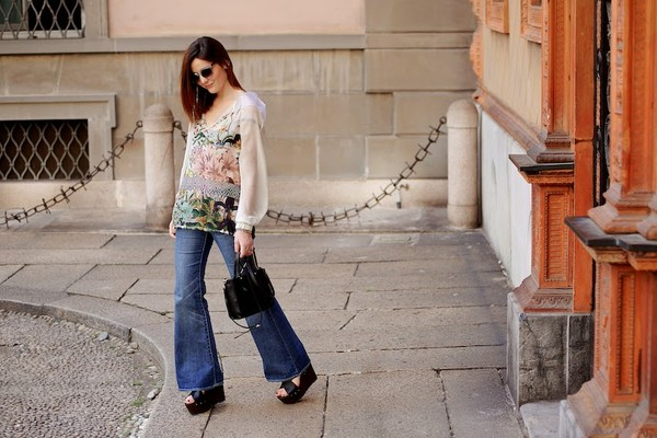 onto my wardrobe blouse jeans shoes bag sunglasses