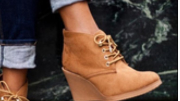 shoes tan lace up booties