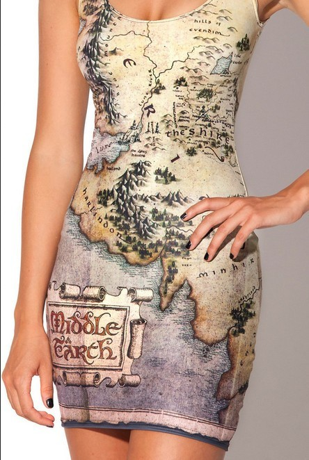 DebrisC                  - Ancient Middle Map Dress (M002)