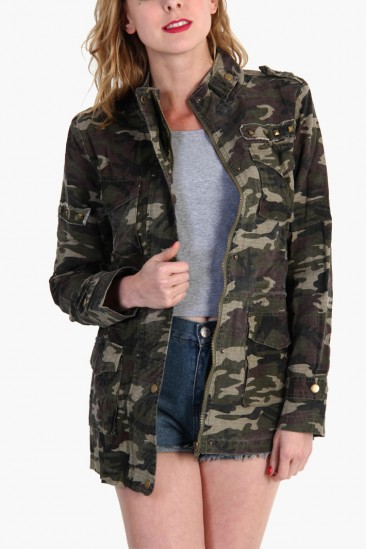 LoveMelrose.com From Harry & Molly | Army Camouflage Jackets