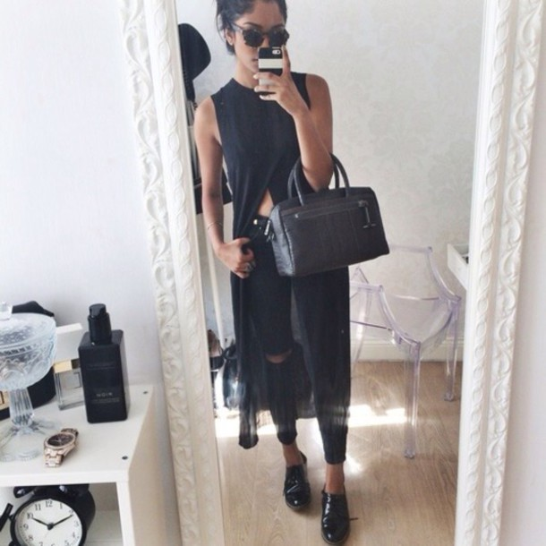 dress top long top black top long top crop tops black top black crop top boyfriend jeans black boyfriend jeans black bag oxfords black oxfords phone cover phone cover iphone cover sunglasses sunnies all black everything all black everything black clothing fashion fashion inspo outfit idea style style stylish trendy trendy trendy trendy blogger blogger blogger blogger fashionista fashionista on point clothing cool casual hair accessory romper shirt black dope shirt long shirt dress black t-shirt black dress black jeans ripped jeans summer top summer dress summer shirt