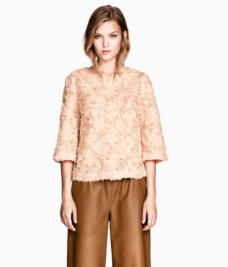H&M Blouse with flowers £29.99