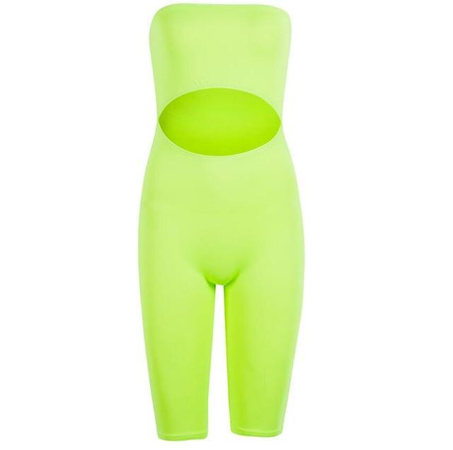 BillionDollarBabyStory - Billion Dollar Baby - Off-shoulder shorts jumpsuit