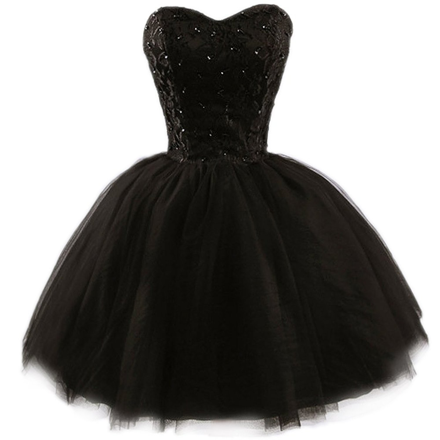 Prettydresses women's black lace cocktail homecoming prom party dresses at amazon women's clothing store: