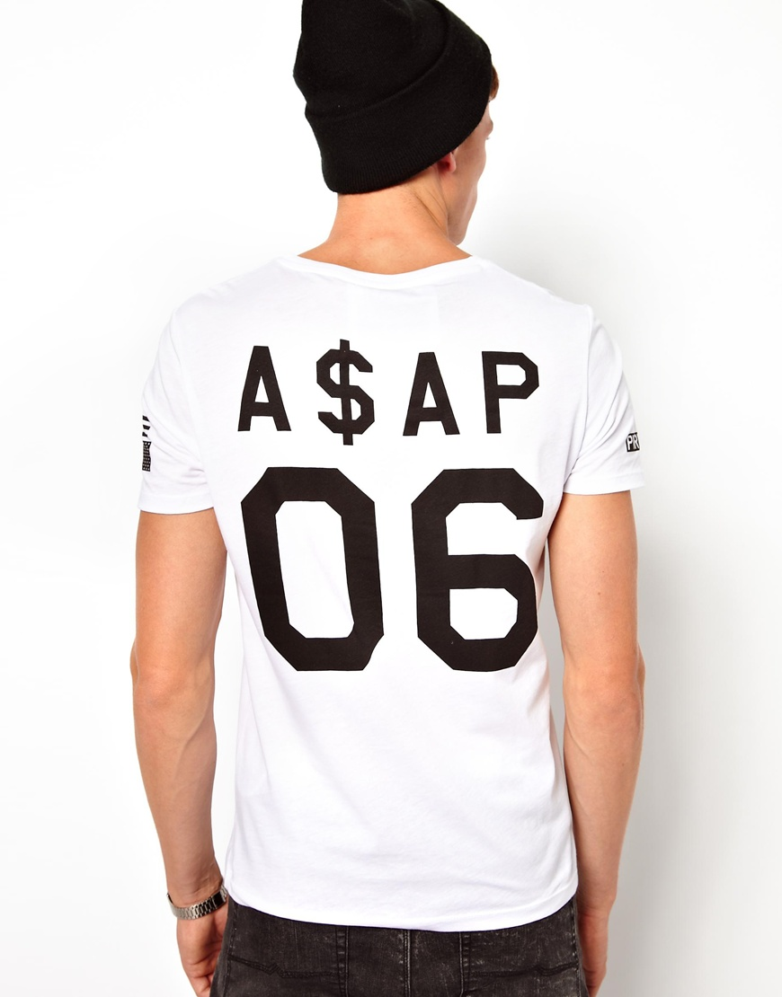 ASOS T-Shirt With A$AP Rocky Print at asos.com