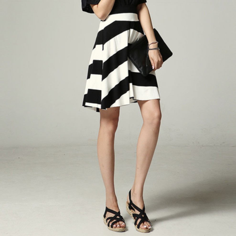 Easy flared skirt