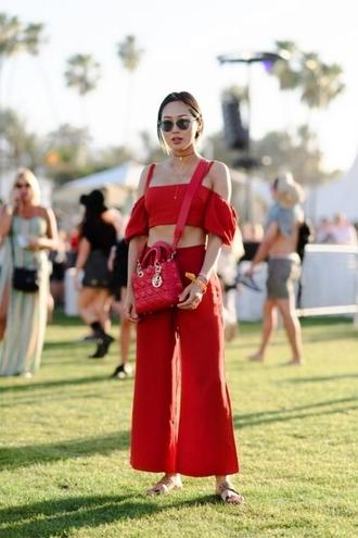 le fashion image blogger top pants