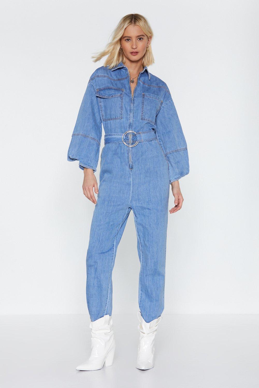 Jean Genie Denim Jumpsuit | Shop Clothes at Nasty Gal!