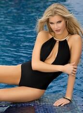 swimwear,lady lux,lady lux swimwear,monokini,black