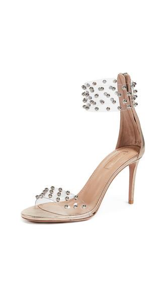 sandals light copper shoes