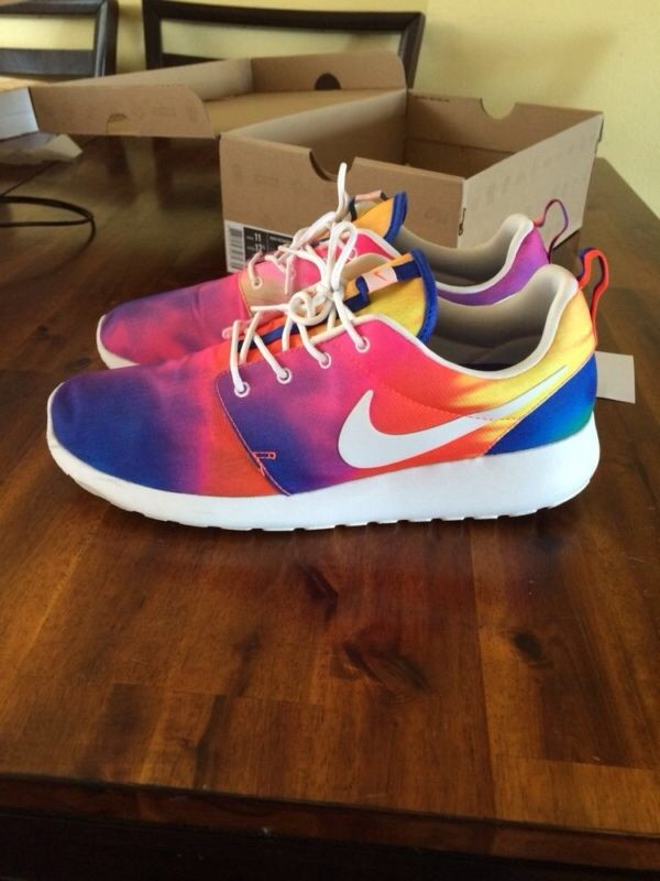 Nike Roshe Run Tye Dye 11 Yeezy Retro Lebron Jordan Kd