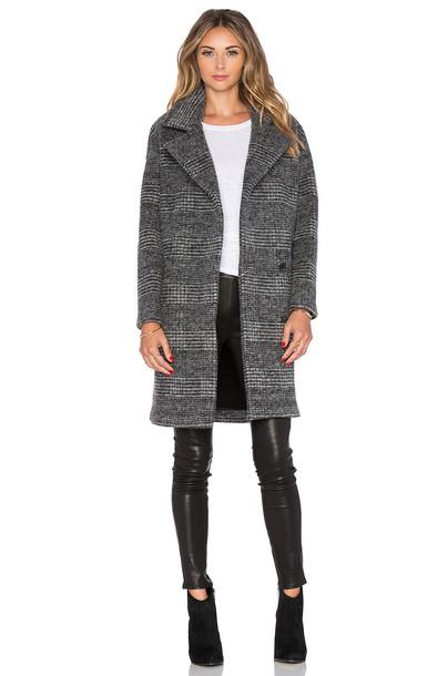 Muubaa coat wool coat wool charcoal