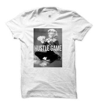 marilyn monroe t-shirt marilyn monroe sweatshirt hustle game hustle gang t shirt slogan top slogan tee graphic tee graphic tees unisex shirt must have fall fashion