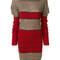 Vivienne westwood - roll-neck jumper dress - women - polyamide/polyester/wool/alpaca - s, brown, polyamide/polyester/wool/alpaca