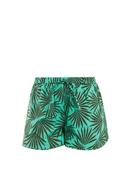 shorts cotton green