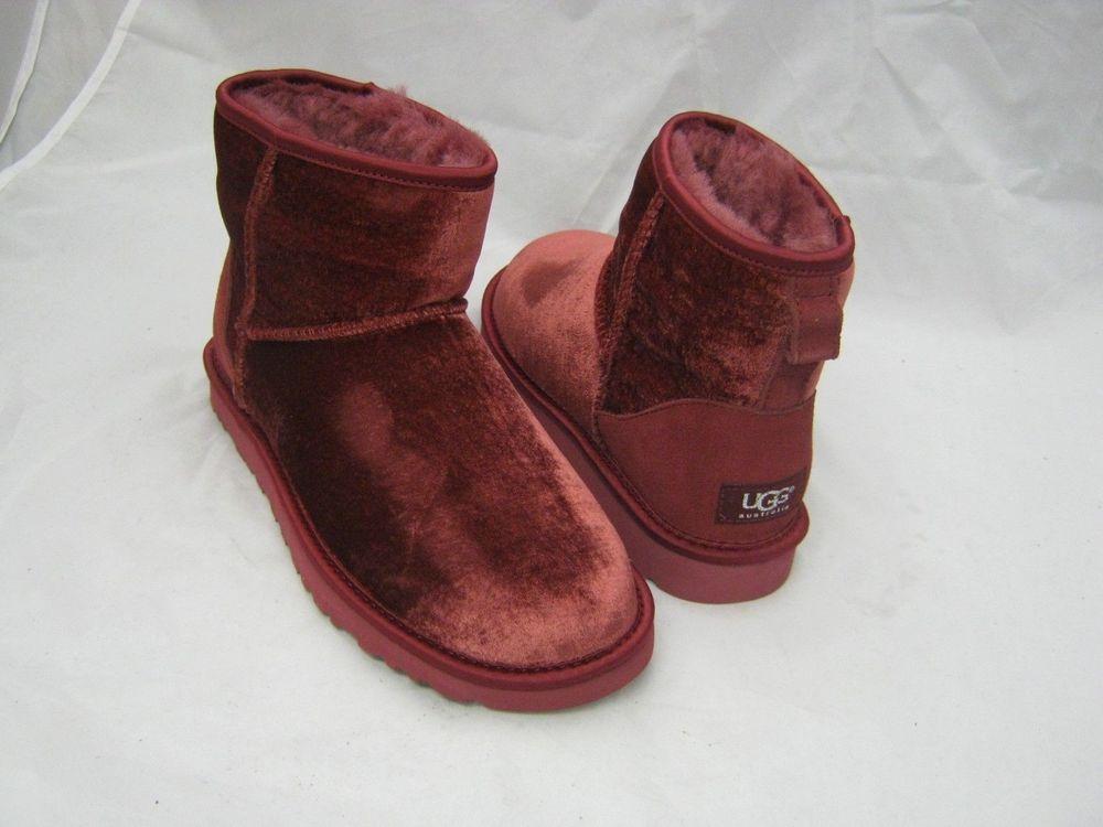 Ugg Australia Glittered classic shearling boots Pink | Luisaviaroma