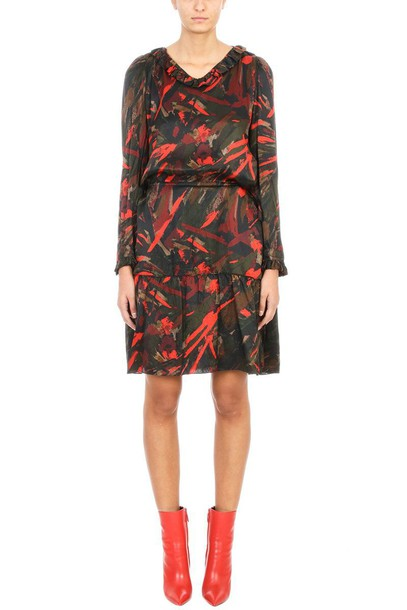 Balenciaga dress silk dress silk black