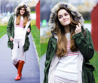 coat romwe green