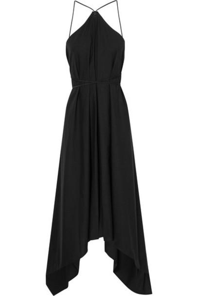 Caravana dress maxi dress maxi leather cotton black