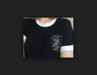 shirt alien space my i need my space galaxy print